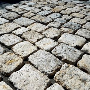 Antique Roman Cobblestone