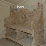 Image of BN-19b one of the High Quality Limestone Benches product of Neolithic Materials