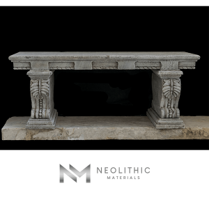 Image of BN-22-b one of the Limestone Bench product of Neolithic Materials