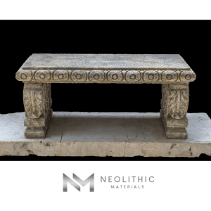 Image of BN-24-b one of the Classic Stone Benches product of Neolithic Materials