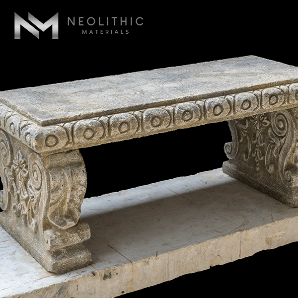 Image of BN-24-c one of the Classic Stone Bench product of Neolithic Materials