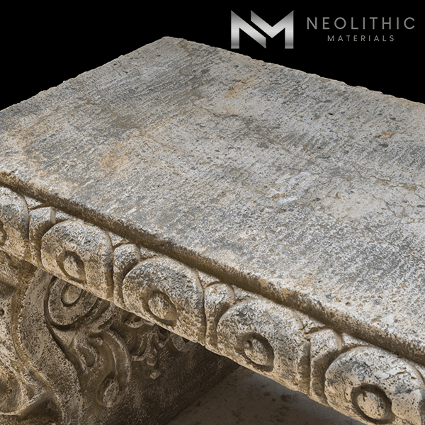 Image of BN-24-d one of the Stone Benches product of Neolithic Materials