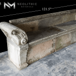 Image of BN-25-a one of the Reclaimed Stone Bench product of Neolithic Materials
