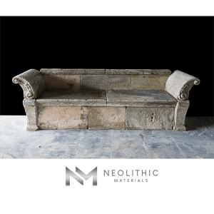 Image of BN-25-b one of the Stone Bench product of Neolithic Materials