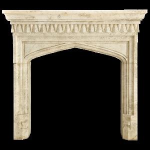 Newly Carved Fireplace 1004