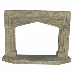 Newly Carved Fireplaces 406