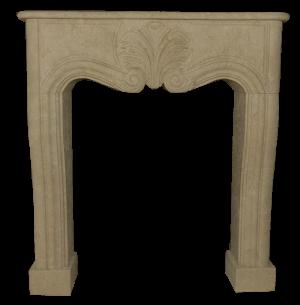 Newly Carved Fireplace 575