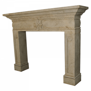 Newly Carved Fireplace 696