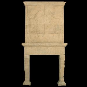 Newly Carved Fireplace 714