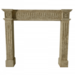Newly Carved Fireplace 806
