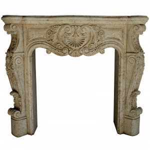 Newly Carved Fireplace 863
