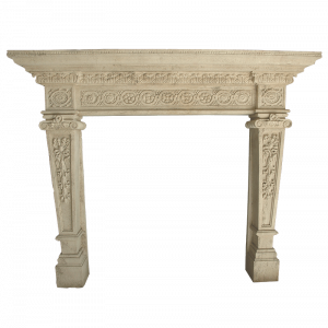 Newly Carved Fireplace 866