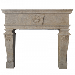 Newly Carved Fireplace 893