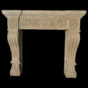 Newly Carved Fireplace 906
