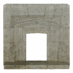 Newly Carved Fireplace 937