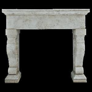 Newly Carved Fireplace 943