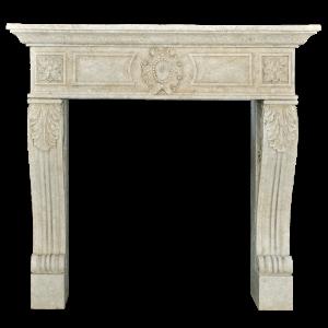 Newly Carved Fireplace 971