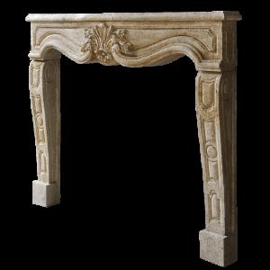 Newly Carved Fireplace 984