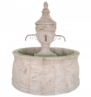 Newly Carved Fountain 300 Urne Vase SFS