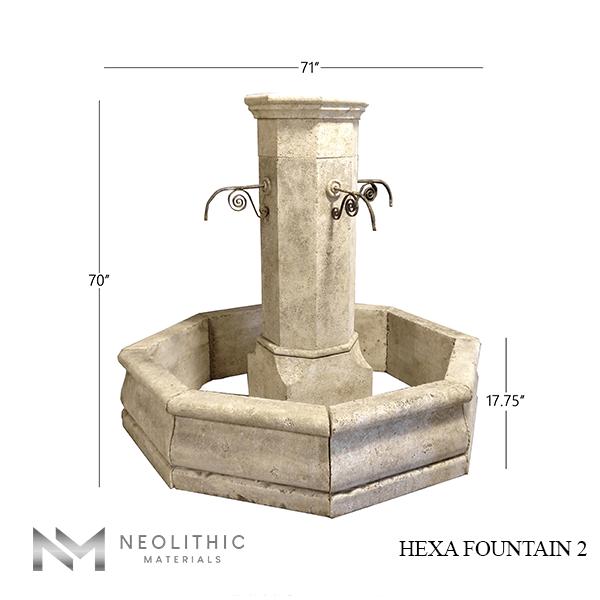 Hexa Fountain 2 1