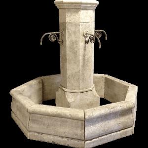 Newly Carved Hexa Fountain 2