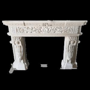 Newly Carved Fireplace 898