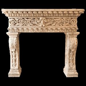 Newly Carved Fireplace 904