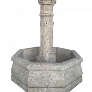 Newly Carved Fountain 100