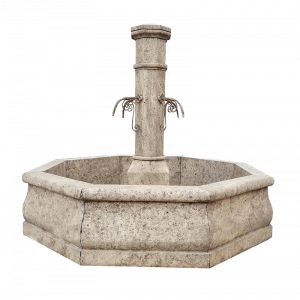 Newly Carved Fountain 101