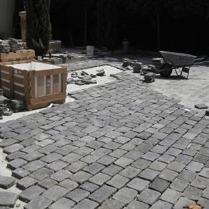 Reclaimed Basalt Cobblestone