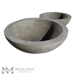 Product Image of 2 Stone Trough Sinks one of the products of Neolithic Materials