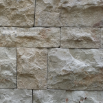 Cladding Coarse Tile installed in a wall
